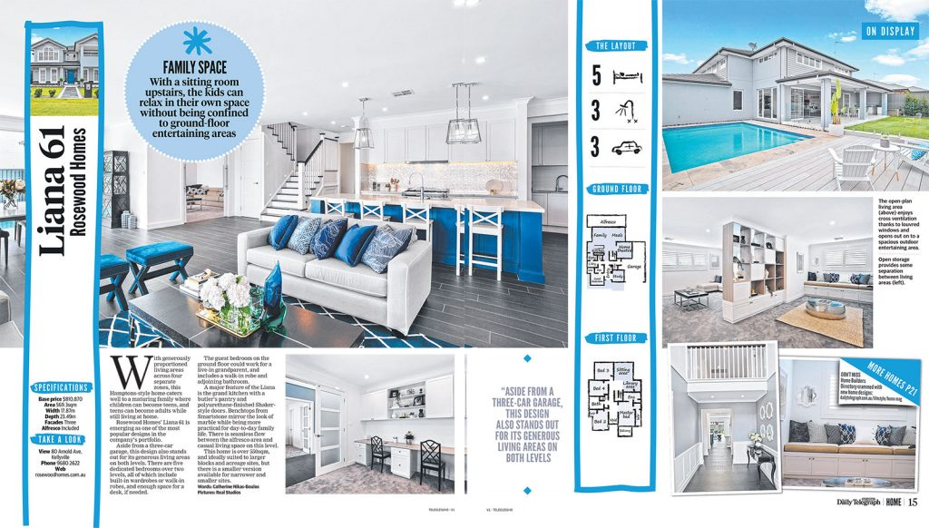 Daily Telegraph Home lift out September 7, 2019